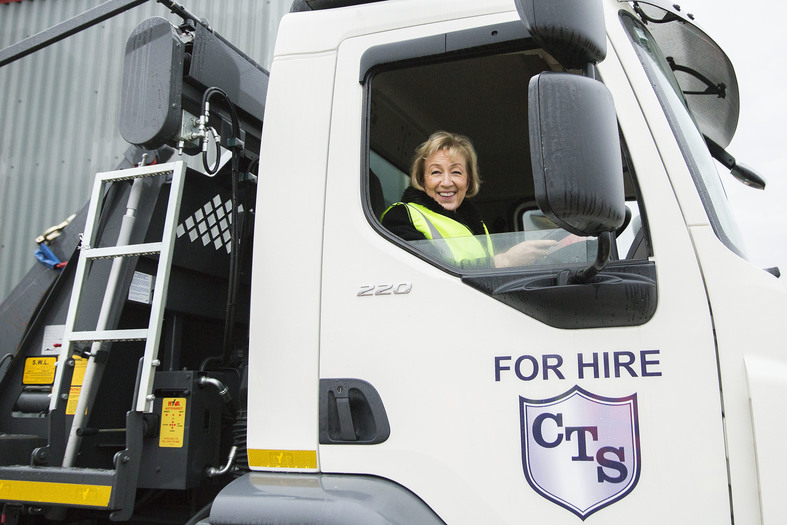 Andrea Leadsom MP Visits New CTS Depot