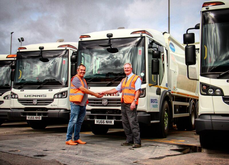 Brand New Fleet For Bristol Waste Company