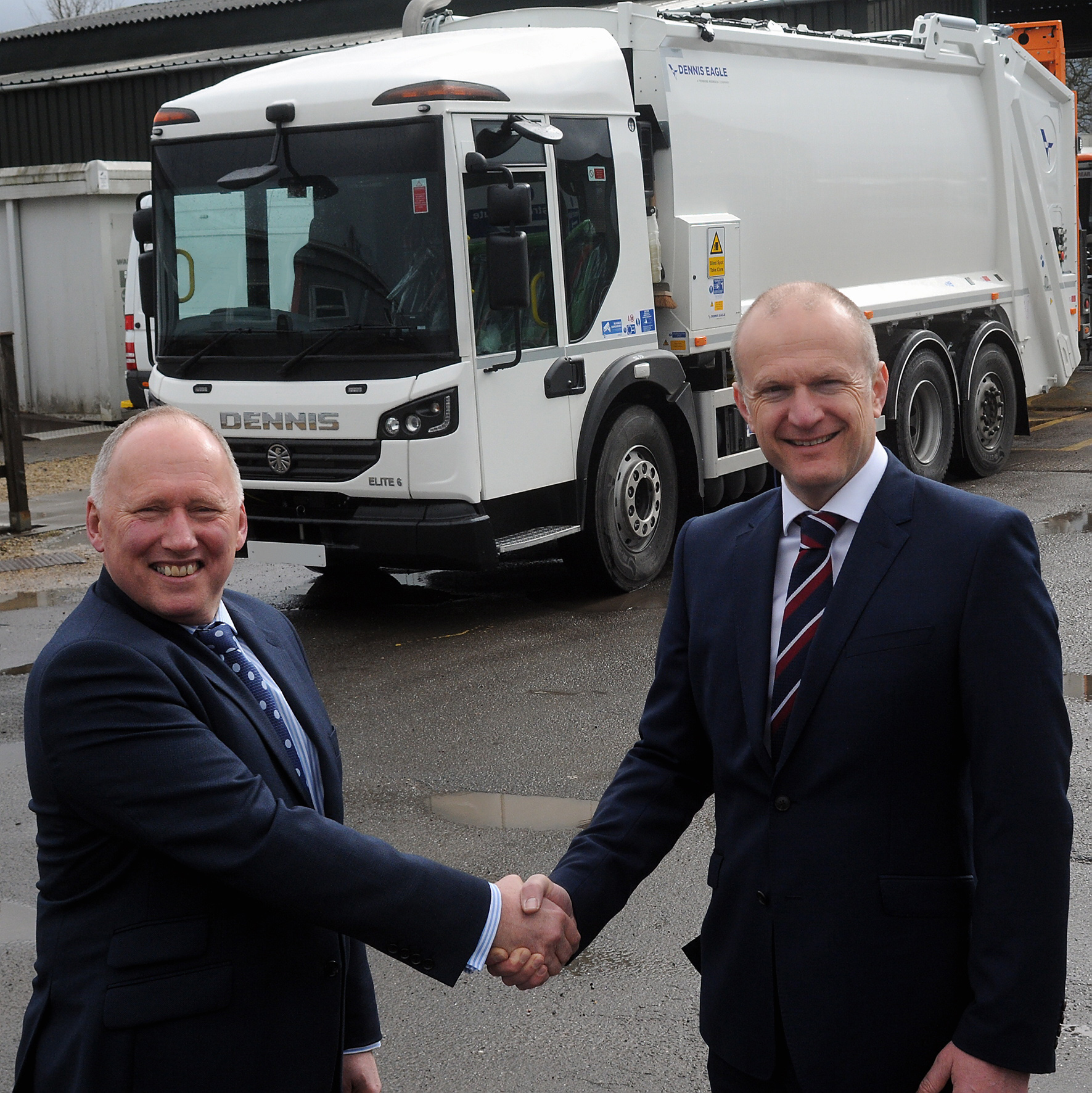CTS Hire Boosts Fleet With 12 New Refuse Vehicles From Dennis Eagle