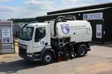 CTS Sweeper Improves Highways In Lincolnshire