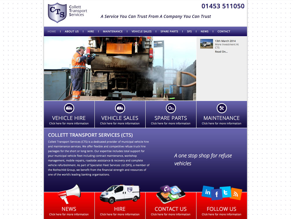 CTS Website Gets Refurbished
