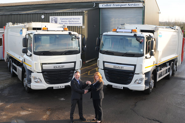 DAF Trucks Deliver Early Xmas Present For CTS
