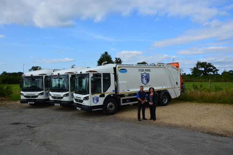 CTS Takes Delivery Of Euro 6 RCV's